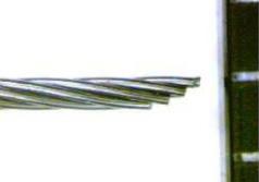 ニッケルチタンの撚り線 1×7
