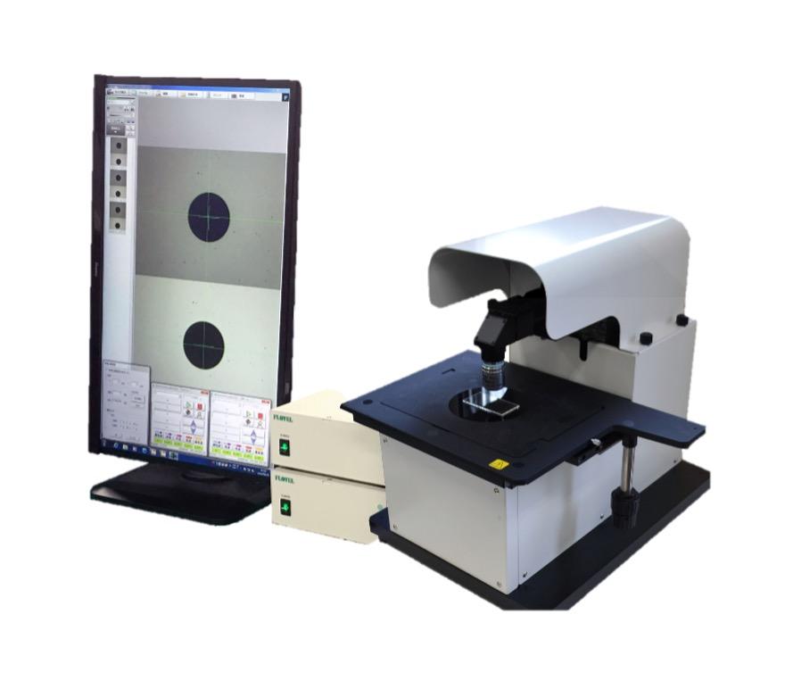 両面同軸顕微鏡