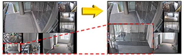 ネットワーク監視カメラシステムサンプル画像