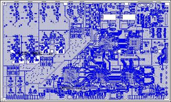 CR5000/BDの画面